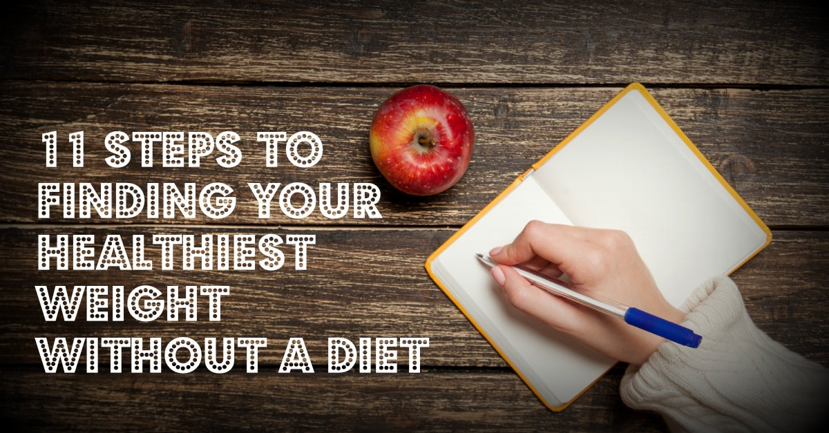 Don't diet – Change your thinking about food instead