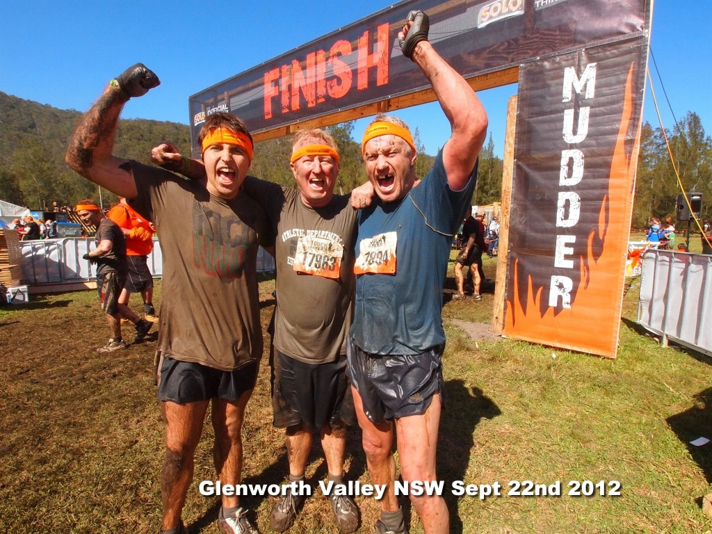 Our client Kenny tackles Tough Mudder