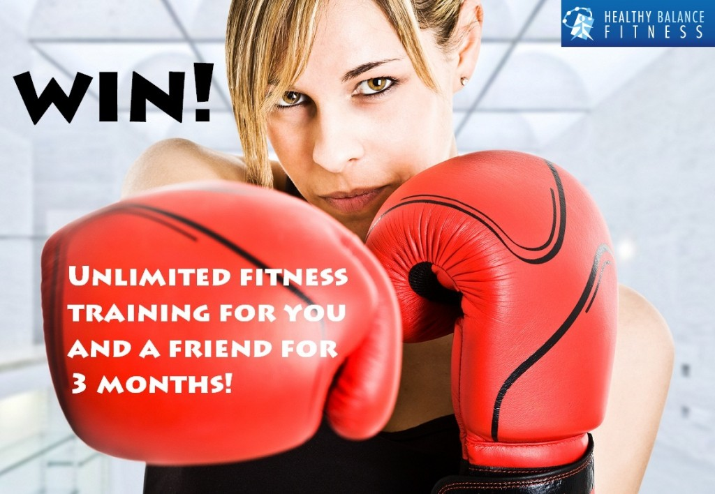 Win unlimited fitness classes for you and a friend for 3 months