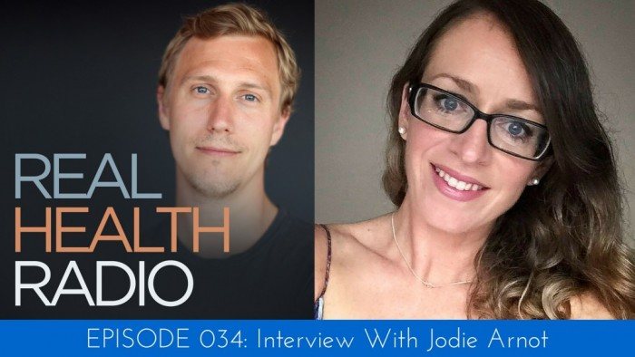 Jodie Arnot speaks with Real Health Radio