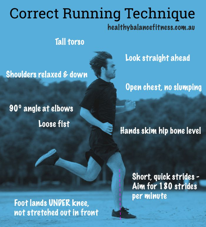 Running technique tips