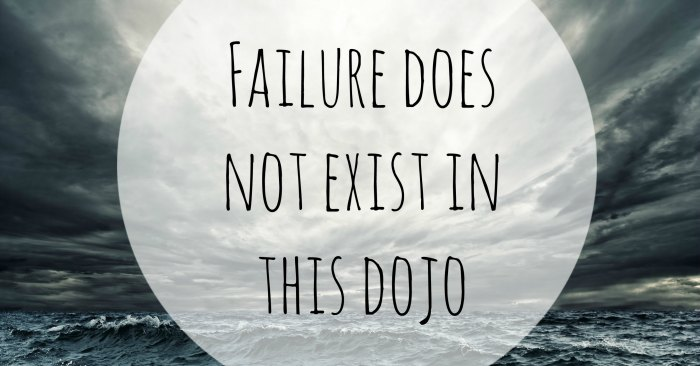What would your life look like if you knew failure is not possible?
