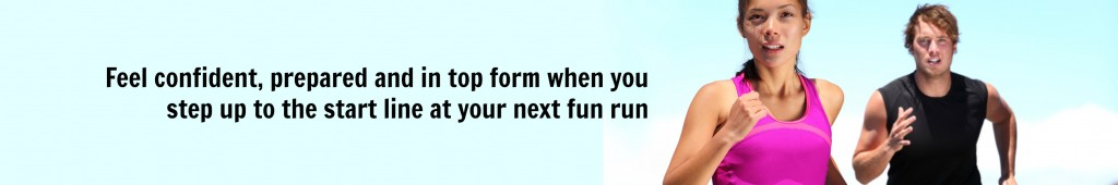 Feel confident for your next 5k, 10k or 21k with our online run program