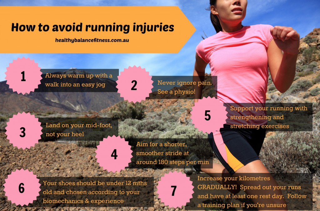 7 steps to keeping your running training injury free