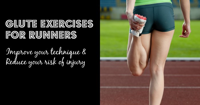 Glute strengthening exercises for runners