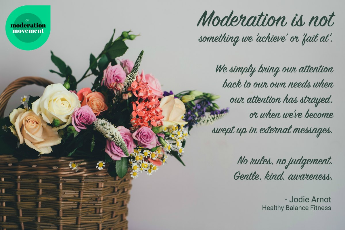 What is moderation?